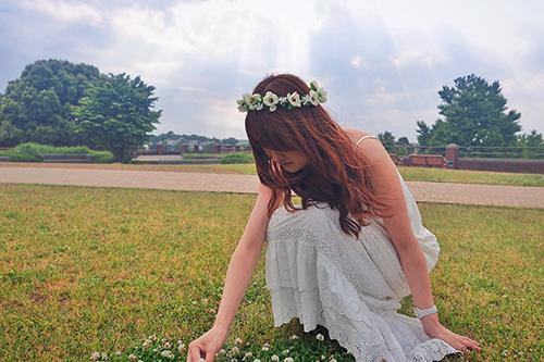 『花かんむり』のフリー写真画像[ID:109]