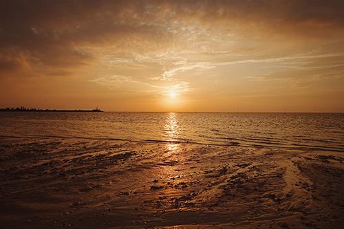 『夏の夕暮れ』のフリー写真画像[ID:68]