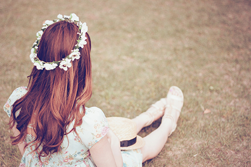『花かんむり』のフリー写真画像[ID:172]
