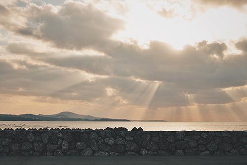 『夏の夕暮れ』のフリー写真画像[ID:205]