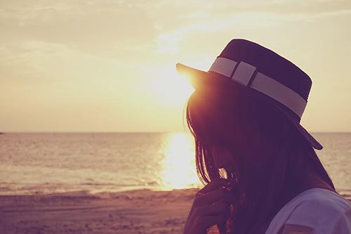 『夏の夕暮れ』のフリー写真画像[ID:78]