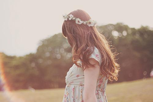 『花かんむり』のフリー写真画像[ID:224]