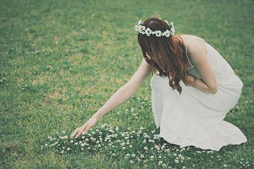 『花かんむり』のフリー写真画像[ID:302]