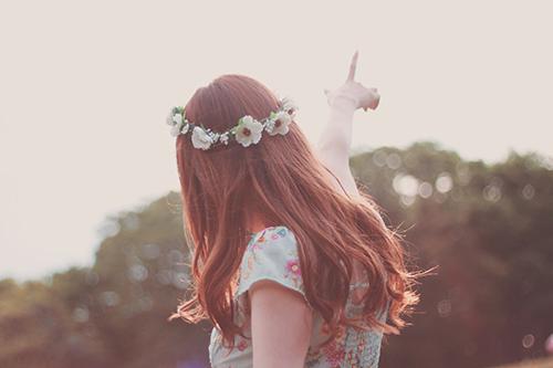 『花かんむり』のフリー写真画像[ID:310]