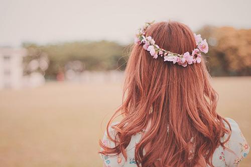 『花かんむり』のフリー写真画像[ID:425]