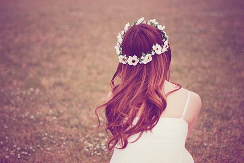 『花かんむり』のフリー写真画像[ID:254]