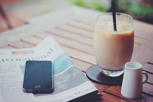 『スマートフォン』のフリー写真画像[ID:565]