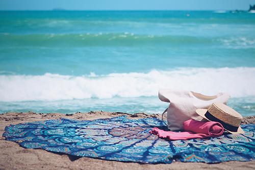 『砂浜』のフリー写真画像[ID:1046]