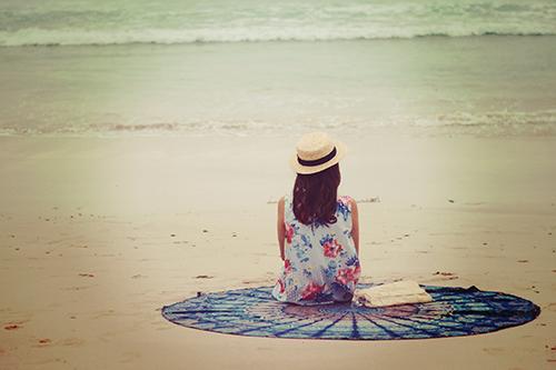『砂浜』のフリー写真画像[ID:1050]