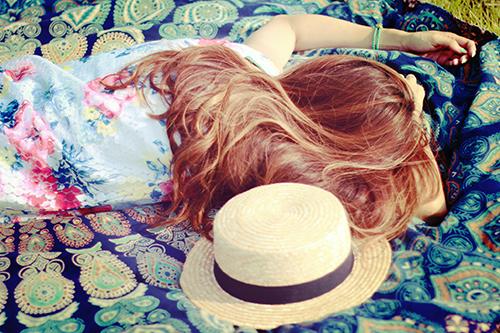 『お昼寝』のフリー写真画像[ID:1076]