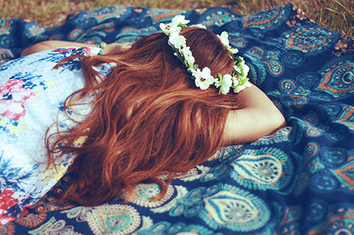 『花かんむり』のフリー写真画像[ID:1071]