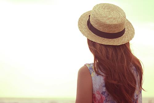 『麦わら帽子』のフリー写真画像[ID:1115]