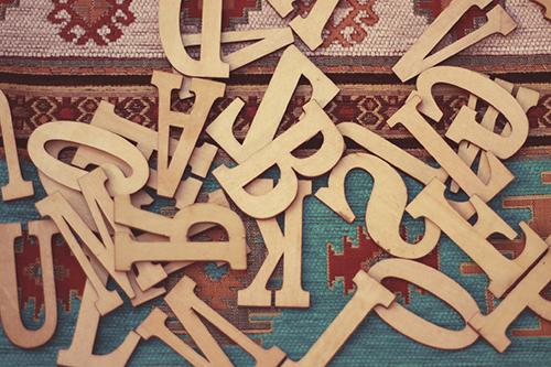 『アルファベット』のフリー写真画像[ID:1353]