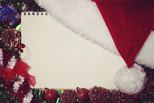 『サンタ帽』のフリー写真画像[ID:1534]