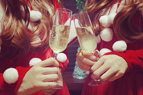 『クリスマスパーティ』のフリー写真画像[ID:1558]