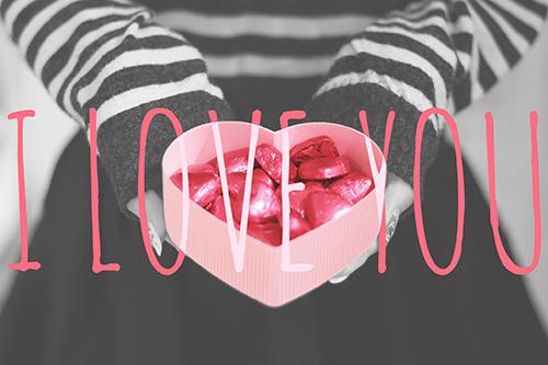 『バレンタイン』のフリー写真画像[ID:2319]
