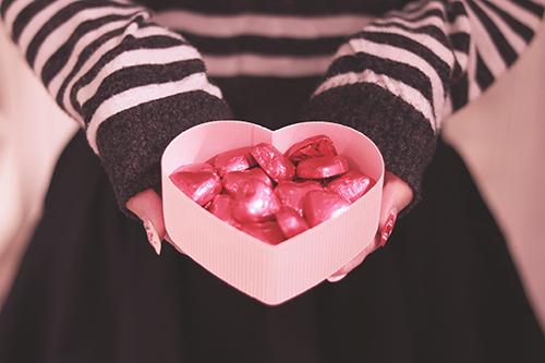 『バレンタイン』のフリー写真画像[ID:2299]