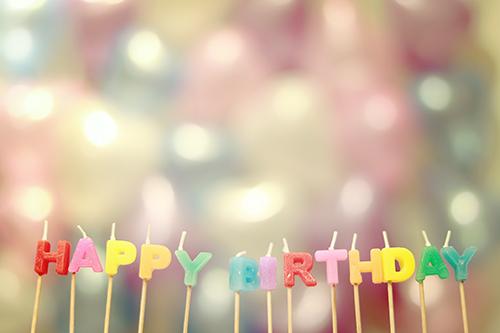 『誕生日』のフリー写真画像[ID:2576]