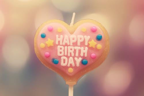 『誕生日』のフリー写真画像[ID:2567]