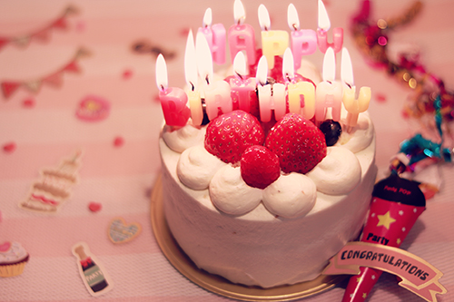 『誕生日』のフリー写真画像[ID:2580]