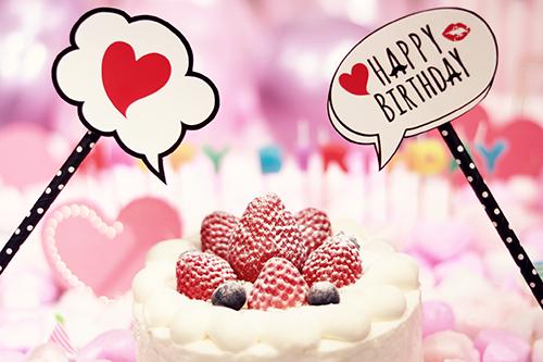 『HAPPY BIRTHDAY』のフリー写真画像[ID:2563]