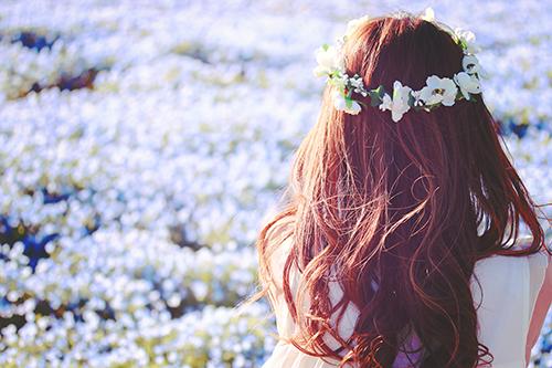 『花かんむり』のフリー写真画像[ID:3009]
