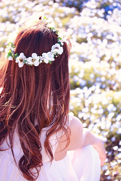 『花かんむり』のフリー写真画像[ID:2979]