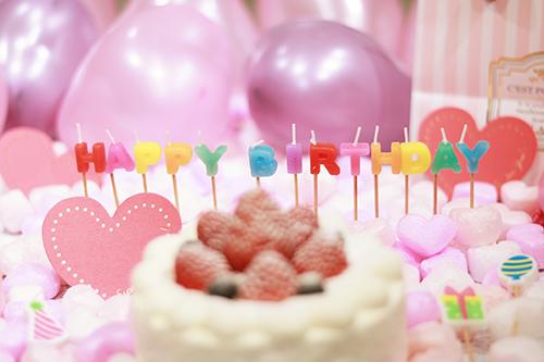 『誕生日』のフリー写真画像[ID:3322]