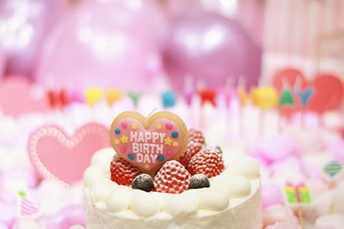 『誕生日』のフリー写真画像[ID:3323]