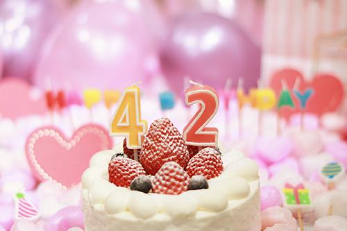『誕生日』のフリー写真画像[ID:3258]