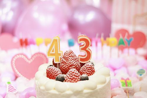 『誕生日』のフリー写真画像[ID:3261]