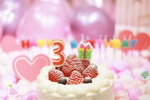 『誕生日』のフリー写真画像[ID:3297]
