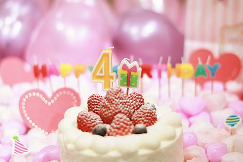『誕生日』のフリー写真画像[ID:3298]
