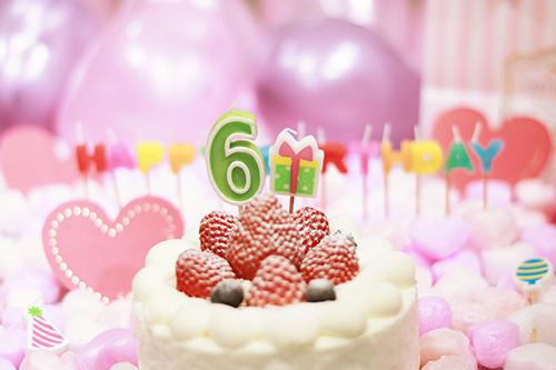『誕生日』のフリー写真画像[ID:3300]