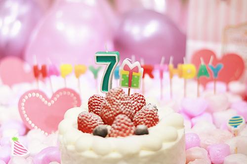『誕生日』のフリー写真画像[ID:3301]