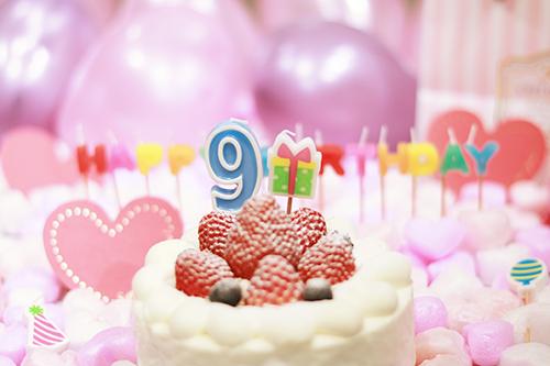 『誕生日』のフリー写真画像[ID:3304]