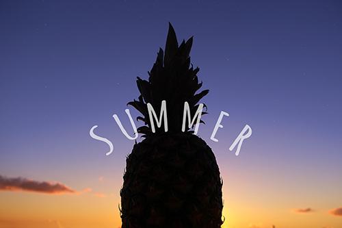 『夏の夕暮れ』のフリー写真画像[ID:3659]