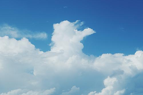『雲』のフリー写真画像[ID:3910]