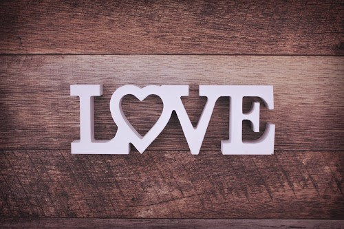 『LOVE』のフリー写真画像[ID:5367]