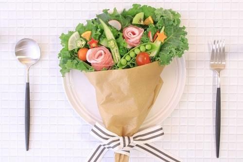 『ブーケサラダ』のフリー写真画像[ID:5714]