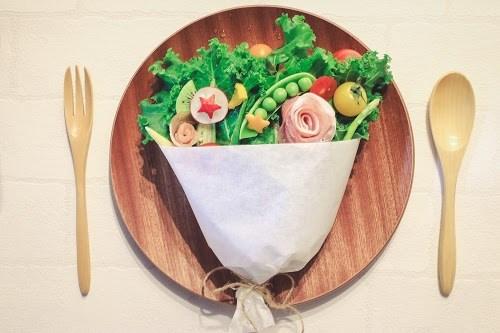 『ブーケサラダ』のフリー写真画像[ID:5929]