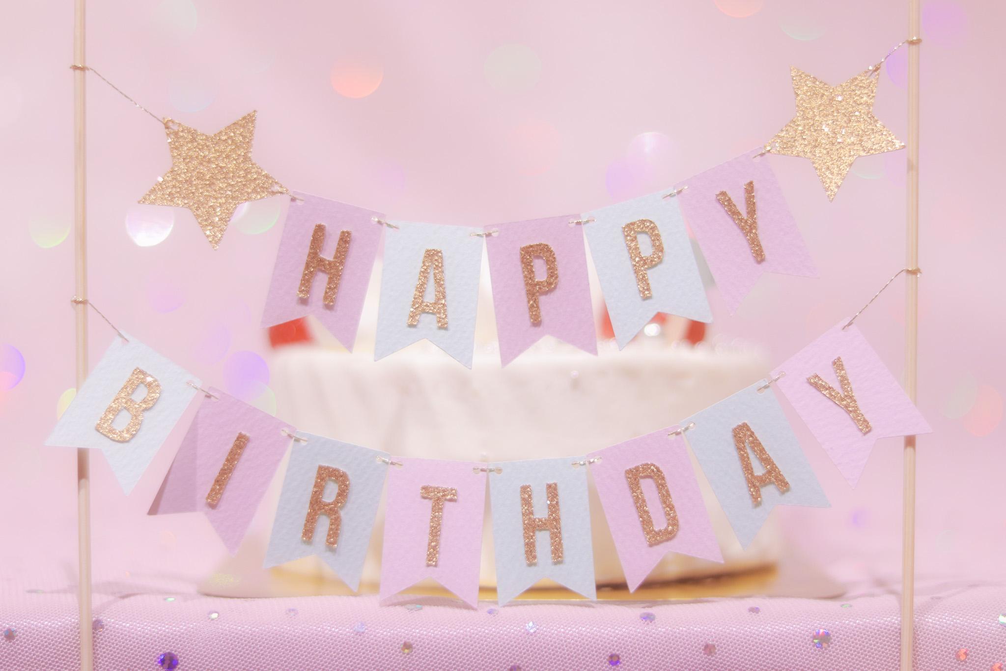 『誕生日』のフリー写真画像[ID:8618]