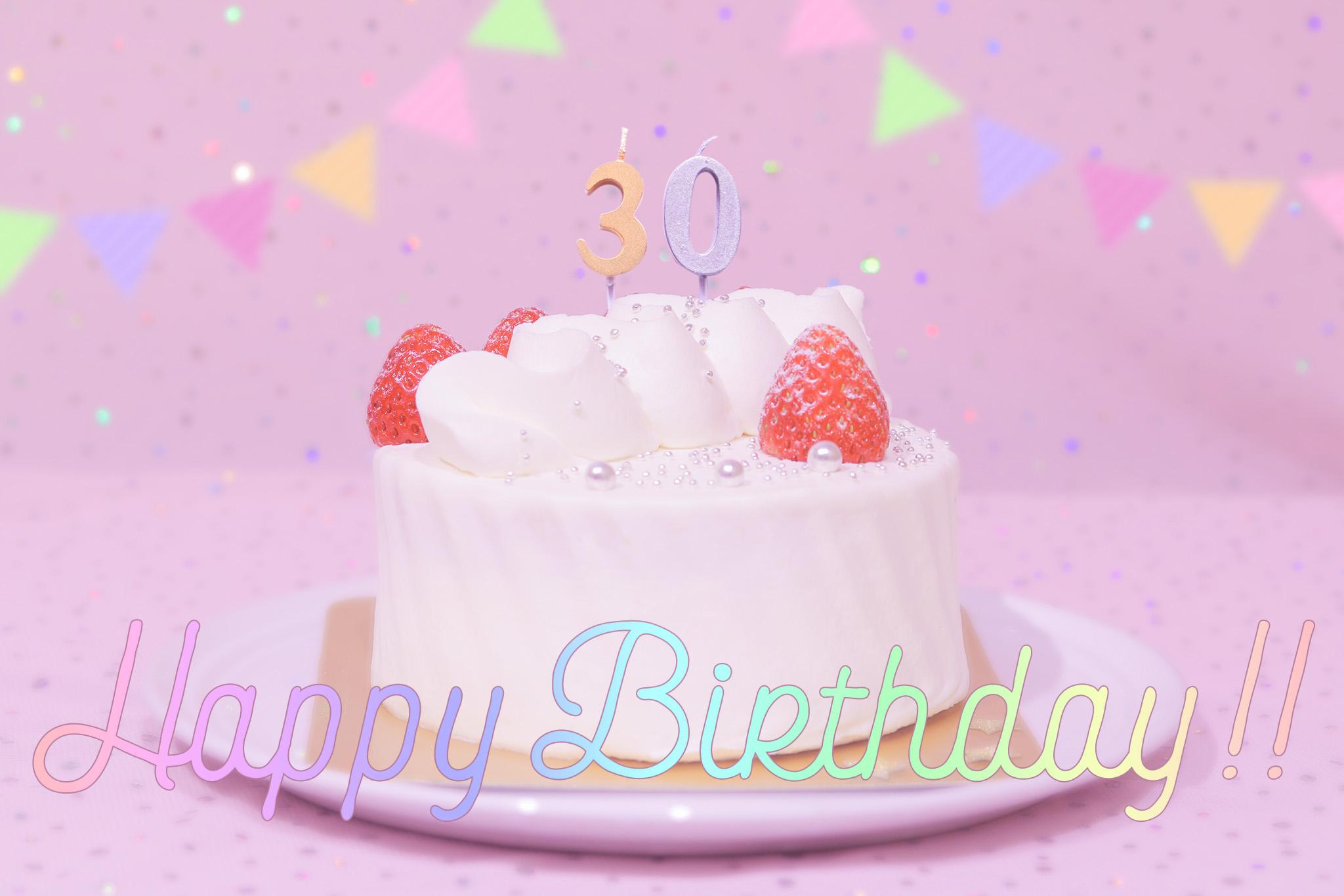お誕生日おめでとう画像[ID:8774]
