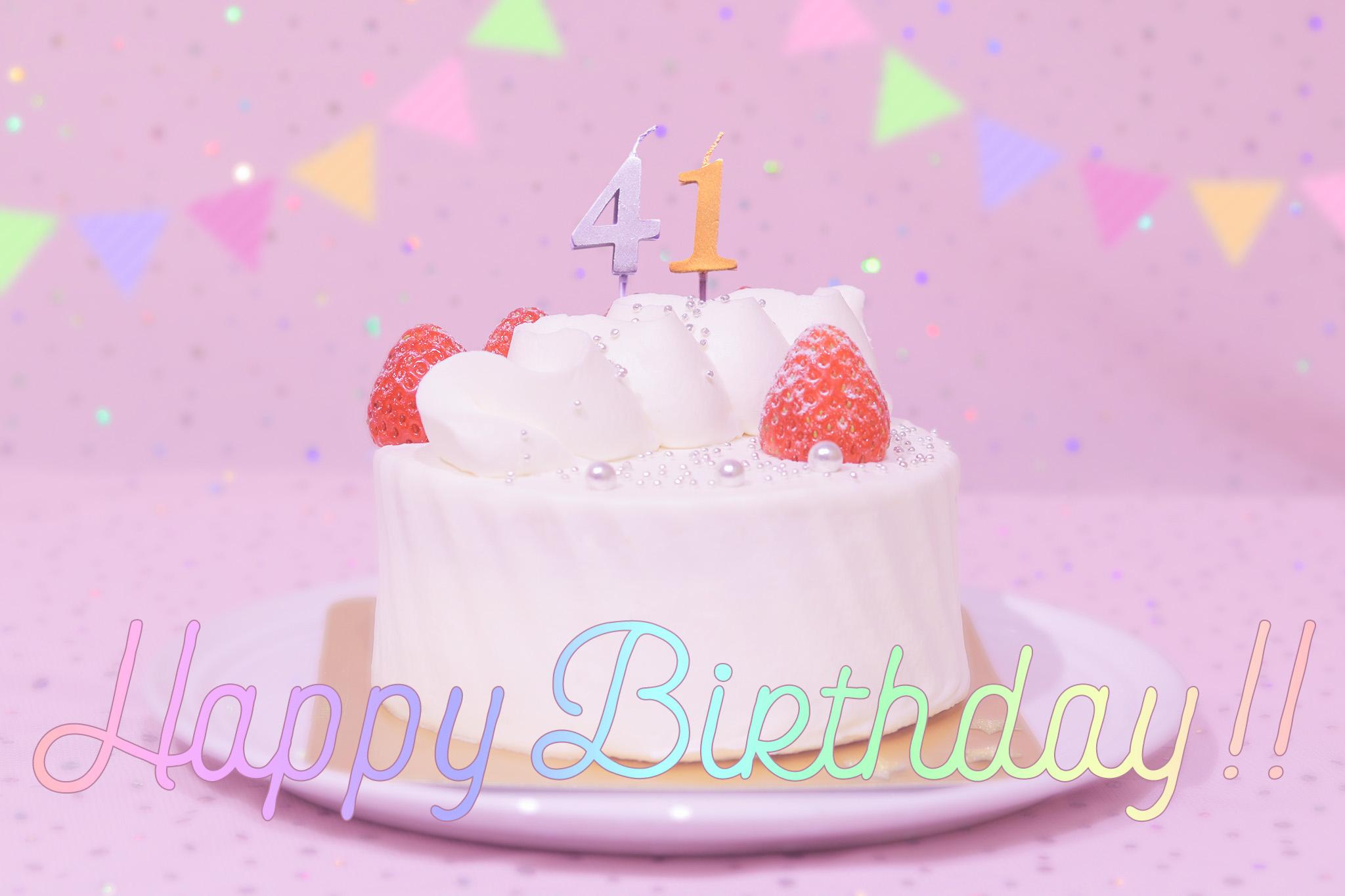 『誕生日』のフリー写真画像[ID:8785]