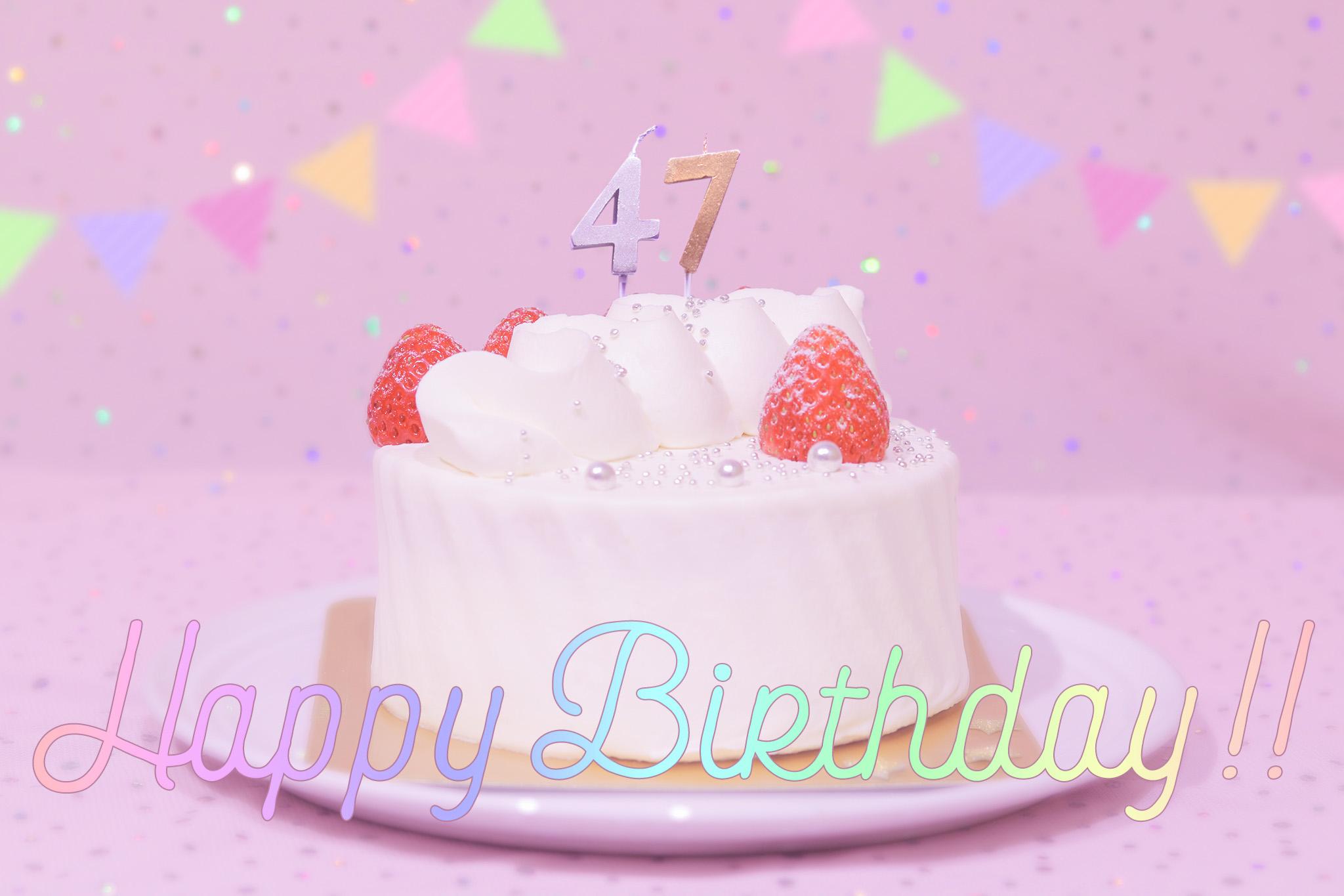 『誕生日』のフリー写真画像[ID:8791]