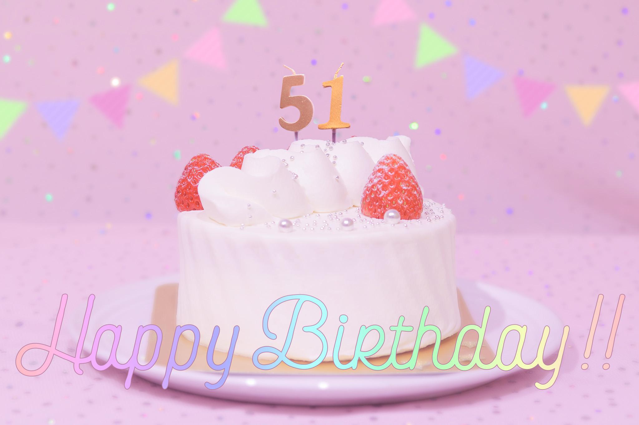 『誕生日』のフリー写真画像[ID:8796]