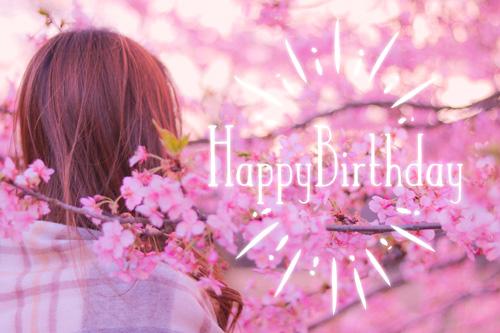 『HAPPY BIRTHDAY』のフリー写真画像[ID:9957]