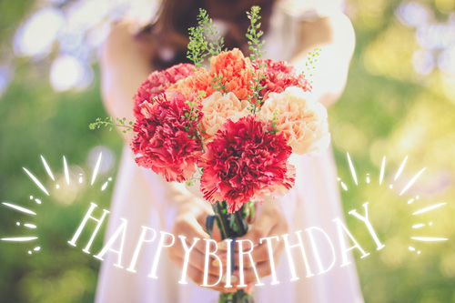 『HAPPY BIRTHDAY』のフリー写真画像[ID:9973]