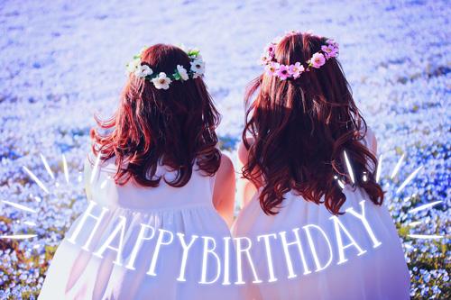 『HAPPY BIRTHDAY』のフリー写真画像[ID:9979]