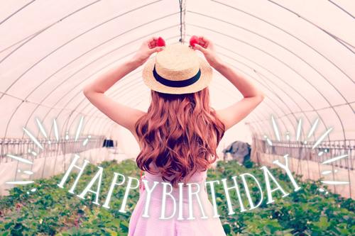 『HAPPY BIRTHDAY』のフリー写真画像[ID:9967]